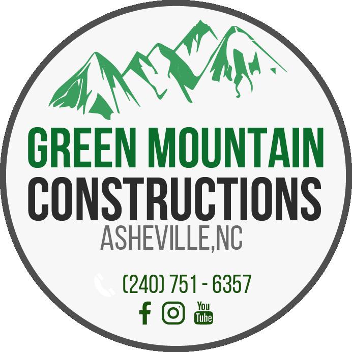 logotipo green mountain constructions