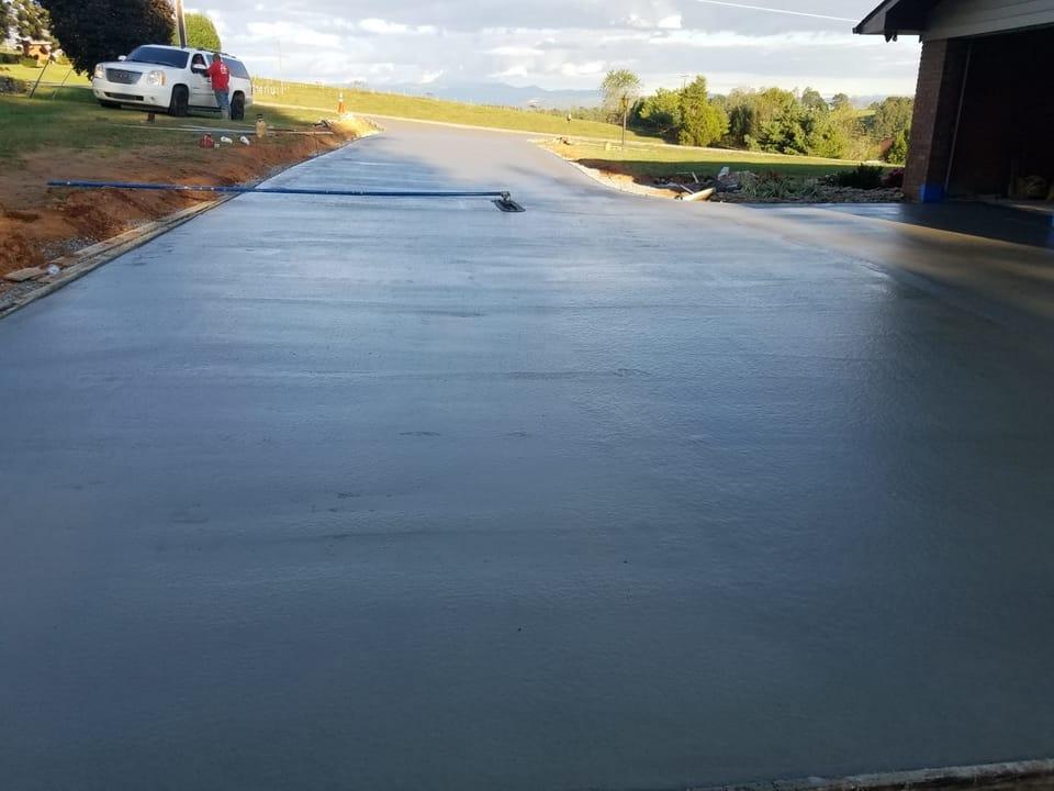Concrete work - green mountain constructions LLC